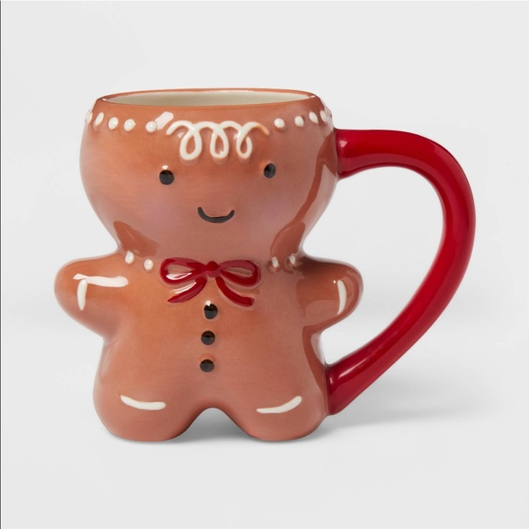 Threshold Gingerbread Man Mug